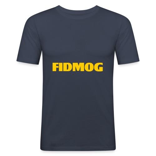 EGG YOLK - Männer Slim Fit T-Shirt