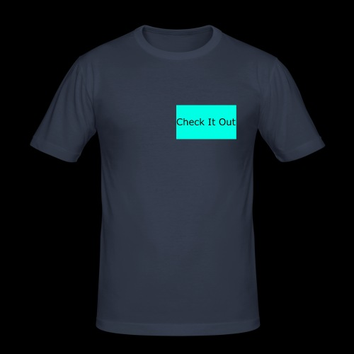 check it out - Men's Slim Fit T-Shirt