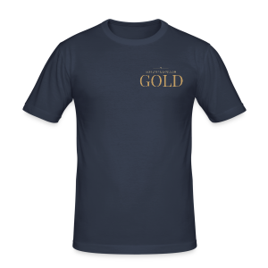 Schtephinie Evardson: Ultra Premium Gold Edition - Men's Slim Fit T-Shirt