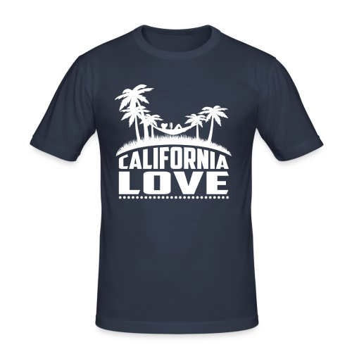 California Love - Männer Slim Fit T-Shirt