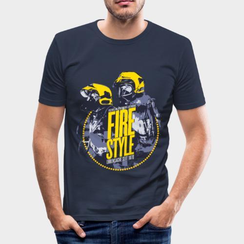 Firestyle 1 - Männer Slim Fit T-Shirt