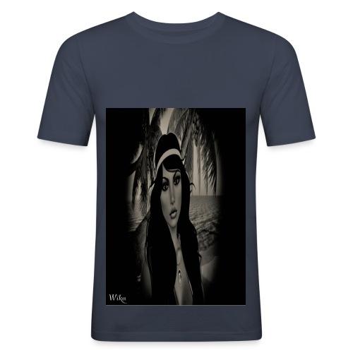 Mein foto aus Second Life Poster 1 - Männer Slim Fit T-Shirt