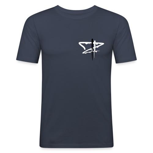 whiteDollar Z - Männer Slim Fit T-Shirt