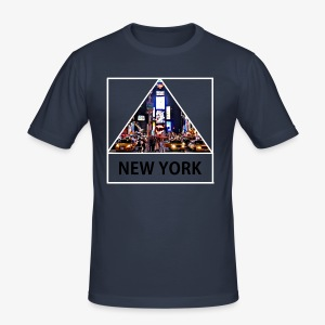 Triangle sur New York - Tee shirt près du corps Homme