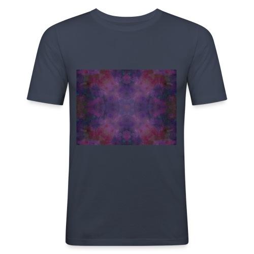 Mandala vibration La Paix - T-shirt près du corps Homme