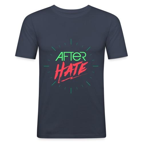 After Hate Horloge - T-shirt près du corps Homme