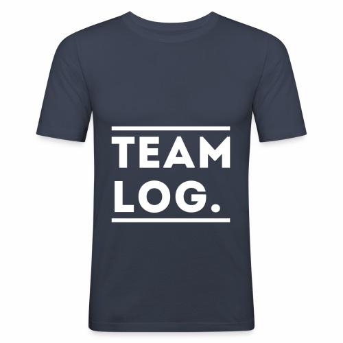 Team Log. - T-shirt près du corps Homme