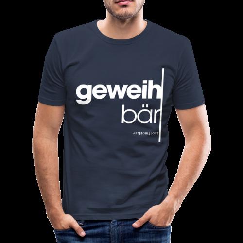 geweihbär 2019 - Männer Slim Fit T-Shirt