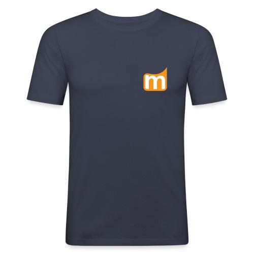 Medifit Lünen Logo - Männer Slim Fit T-Shirt