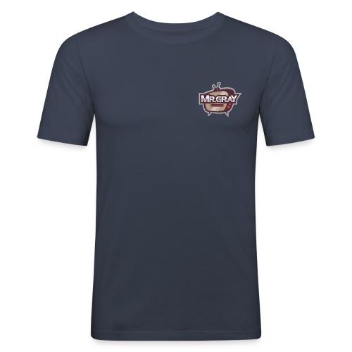 MrGrayTV - Herre Slim Fit T-Shirt