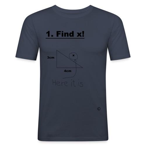 Finde x - Männer Slim Fit T-Shirt