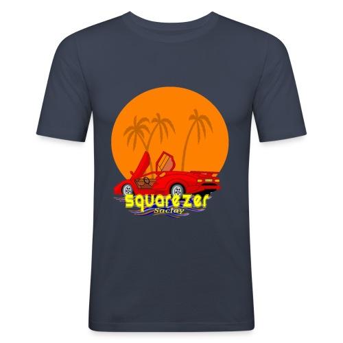 SaclayDrift - T-shirt près du corps Homme