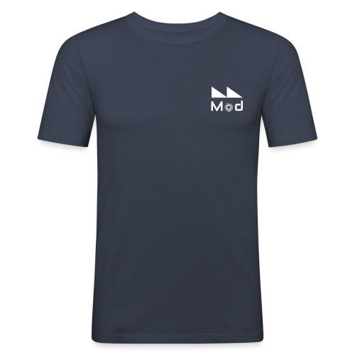 Milano Modulare Logo White - Maglietta aderente da uomo