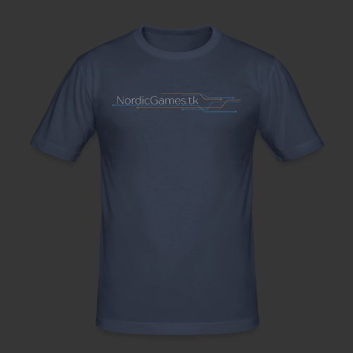 NordicGames.tk Logo - Herre Slim Fit T-Shirt