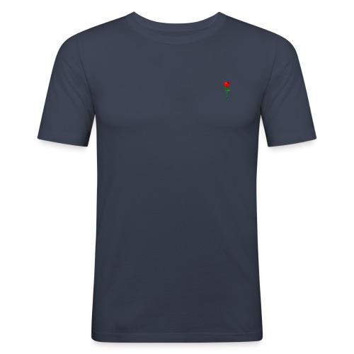 ROSE - Männer Slim Fit T-Shirt