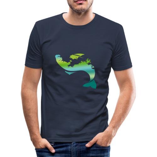 Küstenfisch - Männer Slim Fit T-Shirt