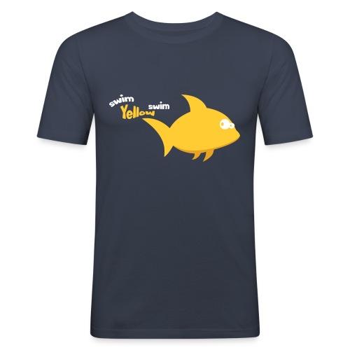 Yellow - slim fit T-shirt