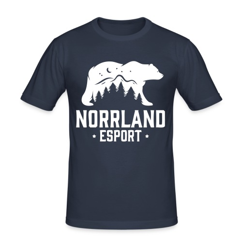 NorrlandEsport - Slim Fit T-shirt herr