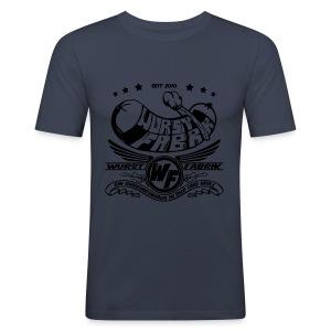 Wurstfabrik Vintage - Männer Slim Fit T-Shirt