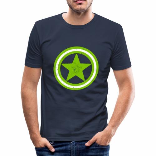 Vegan Vegetarier Lifestyle Shirt T-Shirt Geschenk - Männer Slim Fit T-Shirt