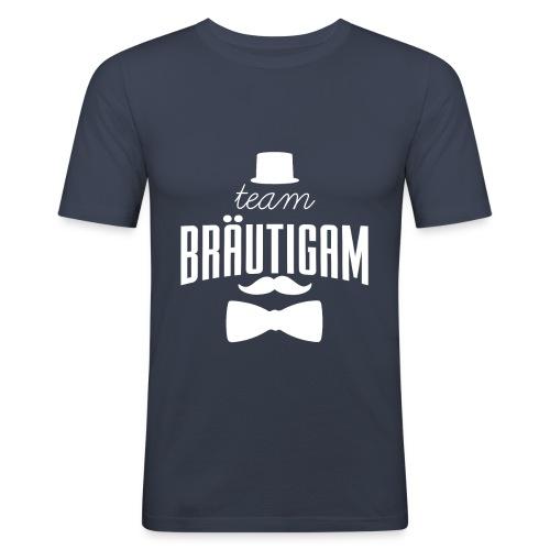 Team Bräutigam - Männer Slim Fit T-Shirt