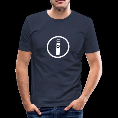 iTechMania Logo - Maglietta aderente da uomo