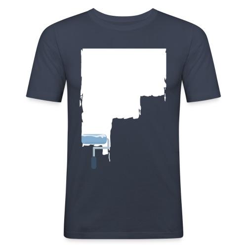 Urban flat design - Männer Slim Fit T-Shirt
