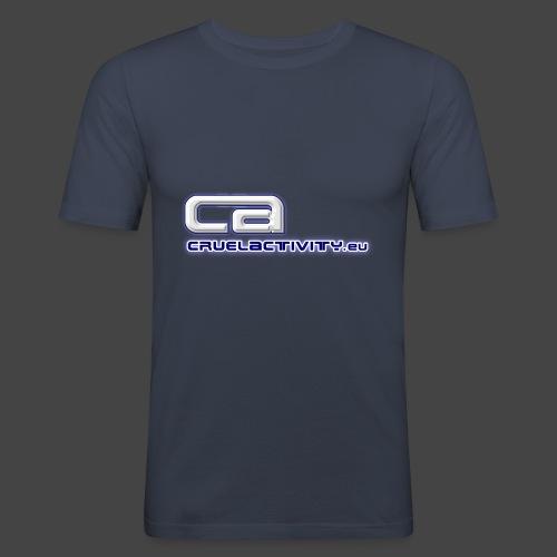 CruelActivity - The Liveact - Logo - Männer Slim Fit T-Shirt