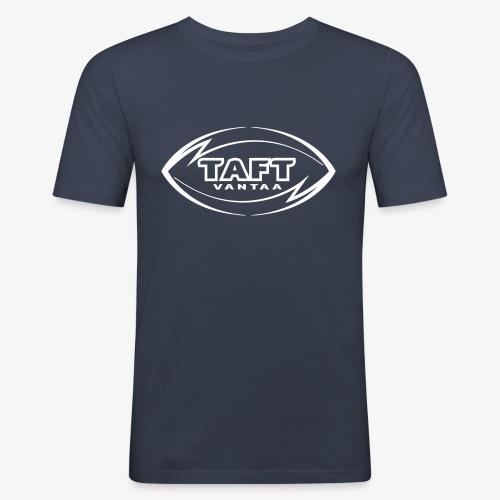 4769739 123993955 LOGO FIN RBLUE SVG orig - Miesten tyköistuva t-paita
