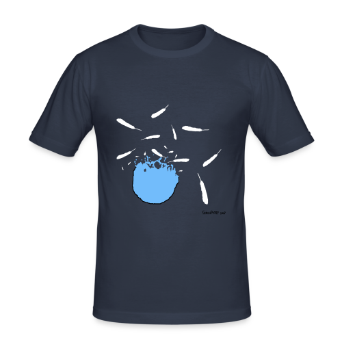 When Twitter Blows You up - Men's Slim Fit T-Shirt