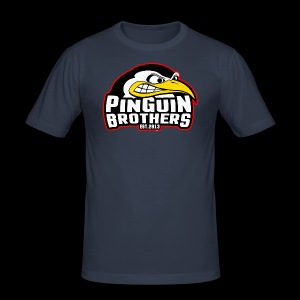 Pinguin bracia Clan - Obcisła koszulka męska