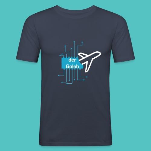 GolebLife - Männer Slim Fit T-Shirt