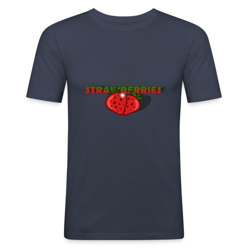 Strawberries - Slim Fit T-shirt herr