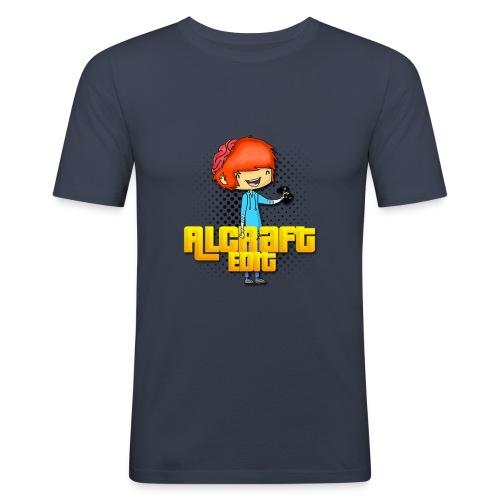 Diseño Simple AlCraft Edit - Camiseta ajustada hombre