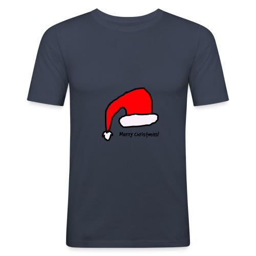 Merry christmas! - Miesten tyköistuva t-paita