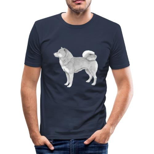 shiba inu - Herre Slim Fit T-Shirt