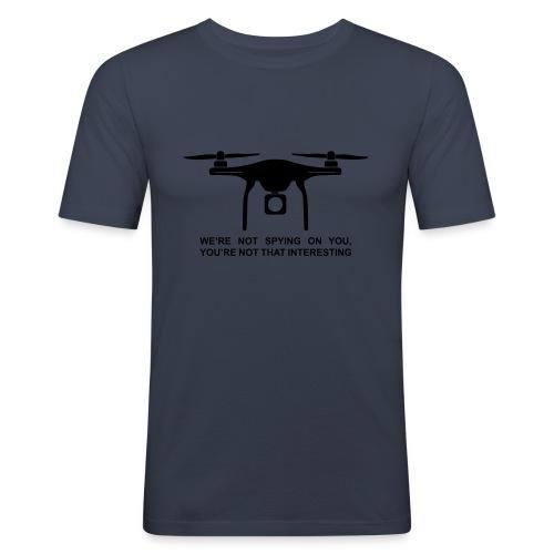 Drone #1 - Slim Fit T-skjorte for menn