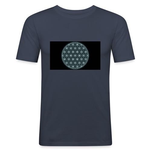 flower of life - slim fit T-shirt