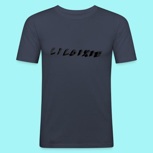 Martyric Logo Design Top Right - Men's Slim Fit T-Shirt