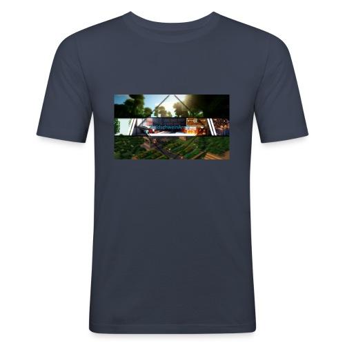 Neues Merch - Männer Slim Fit T-Shirt