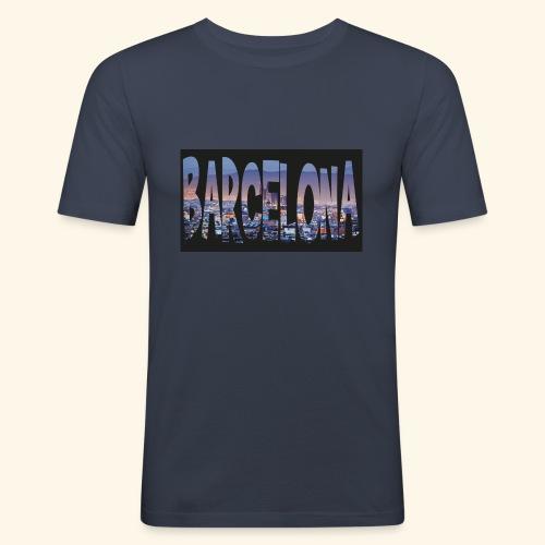 Barcelona - spain - slim fit T-shirt