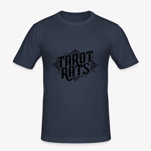 Tarot Rats Logo CLEAR - Men's Slim Fit T-Shirt