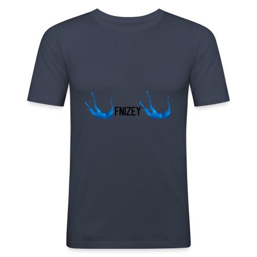 Fnizey paint desing - Slim Fit T-skjorte for menn