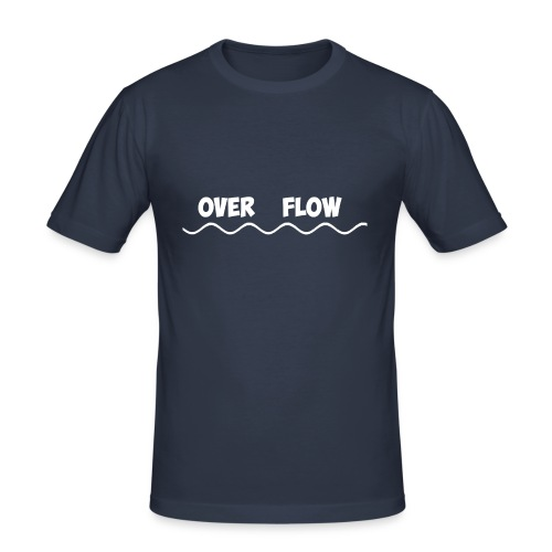 Over Flow - Men's Slim Fit T-Shirt