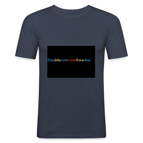 DualdnoobextraSwedens Mugg - Slim Fit T-shirt herr