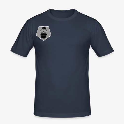 Official Laidback Logo - Men's Slim Fit T-Shirt