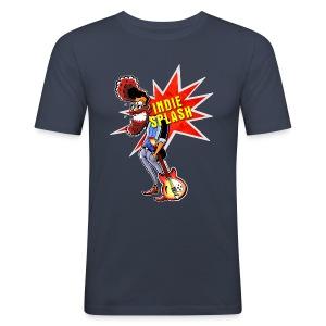 Indie Splash - Männer Slim Fit T-Shirt