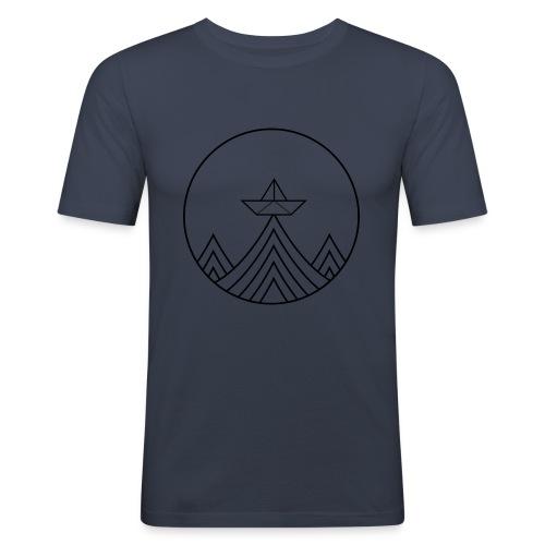 papierboot - Männer Slim Fit T-Shirt