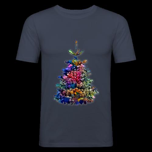 Rafa choinkowa - Obcisła koszulka męska