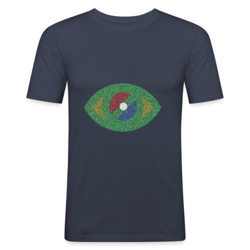 Ojo - Camiseta ajustada hombre